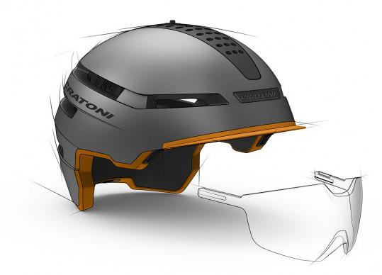 Футуристический шлем Cratoni SmartRide