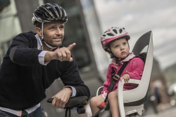 Как выбрать детское велокресло