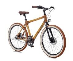my Boo Велосипед городской с бамбуковой рамой my Ashanti