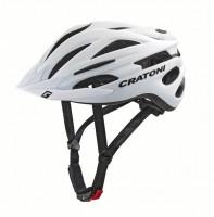 Велошлем Cratoni Pacer+ белый