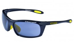 Cratoni Велоочки AIR BLAST black-yellow