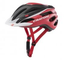 Велошлем Cratoni Pacer черный/красный