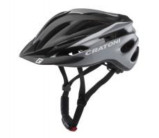 Велошлем Cratoni Pacer черный/белый
