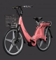 """Электровелосипед Carter 26"""" унисекс roso"""