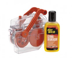Weldtite Машинка для чистки цепи Dirtwash Chain Cleaning Machine  + дегризер 75 мл