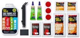 Weldtite Набор для чистки, смазки и ремонта проколов Dirtwash SOS Travel Kit