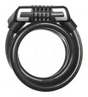 Trelock Велозамок кодовый со спиральным тросом SILVERLINE S 3 150/15 Kombi ZK 432