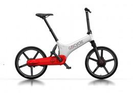 Электровелосипед Gocycle GS белый/красный