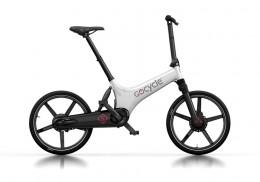 Электровелосипед Gocycle GS белый/черный