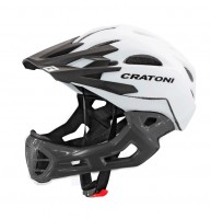 Велошлем Cratoni C-Maniac белый/черный