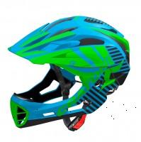 Велошлем Cratoni C-Maniac Limited Edition голубой/зеленый