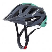 Велошлем Cratoni Miuro серый/зеленый