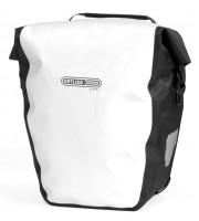 Ortlieb Велосипедная гермосумка Back Roller City white-black