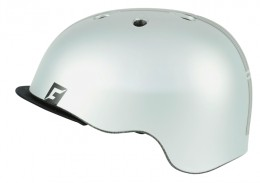 Велошлем C-Reel silver matt