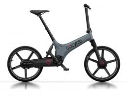 Электровелосипед Gocycle GS серый/черный/