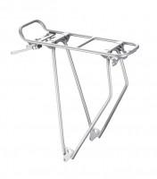 "racktime Велобагажник задний StandIt 28"" silver"