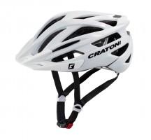 Велошлем Cratoni Agravic белый