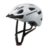 Велошлем Cratoni C-Swift белый глянцевый
