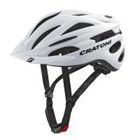 Cratoni Велошлем Cratoni Pacer белый матовый