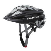 Cratoni Велошлем Cratoni Pacer чёрный/серый матовый