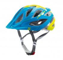 Велошлем Cratoni Miuro голубой/лайм