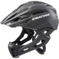 Велошлем Cratoni C-Maniac черный матовый