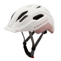 Cratoni Велошлем C-Classic кремовый/розовый матовый