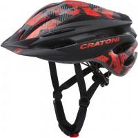 Cratoni Велошлем Cratoni Pacer Junior чёрный/красный матовый