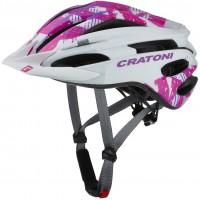 Cratoni Велошлем Cratoni Pacer Junior белый/розовый
