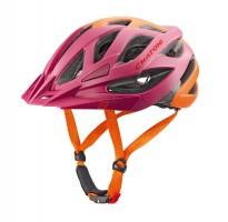 Велошлем Cratoni Miuro бордовый/оранжевый