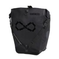 Ortlieb Велосипедная гермосумка Back Roller Design Infinite black matt