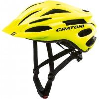 Велошлем Cratoni Pacer неоновый жёлтый матовый