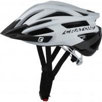 Велошлем Cratoni Agravic белый/чёрный глянцевый