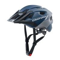 Велошлем Cratoni Allride синий/серый матовый