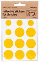 Bookman Светоотражающие наклейки на раму круги желтые