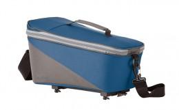 racktime Сумка на багажник велосипеда Talis berry blue/stone grey