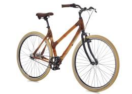 Велосипед городской с бамбуковой рамой my Pra