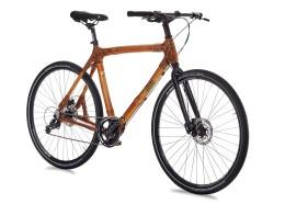 Велосипед городской с бамбуковой рамой my Tano Deore