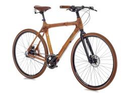 Велосипед городской с бамбуковой рамой my Afram Alfine