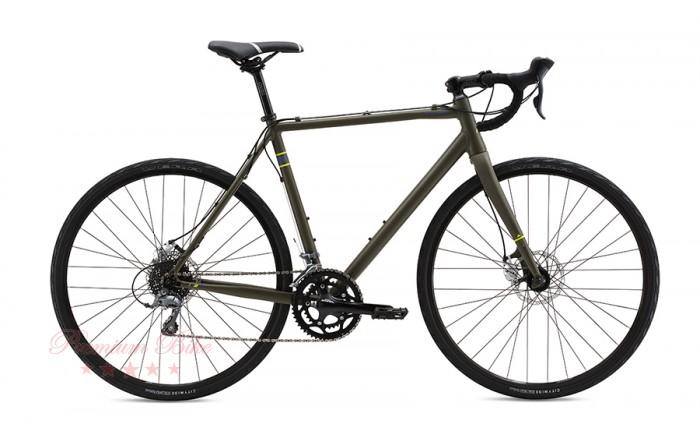 FUJI Bikes Велосипед шоссейный Fuji Tread 1.7 Disc 56 см L