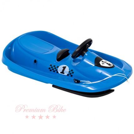 Hamax Санки управляемые Sno Formel голубые