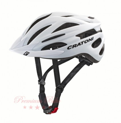 Cratoni Велошлем Cratoni Pacer+ белый