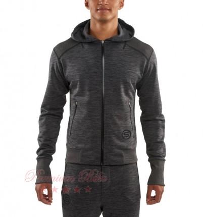 SKINS Куртка спортивная мужская с капюшоном Signal Tech Fleece Hoodie