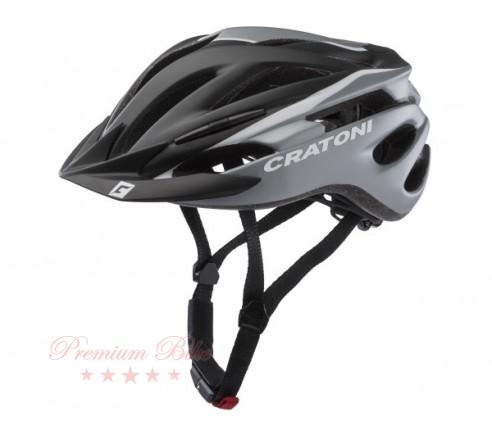 Cratoni Велошлем Cratoni Pacer черный/белый