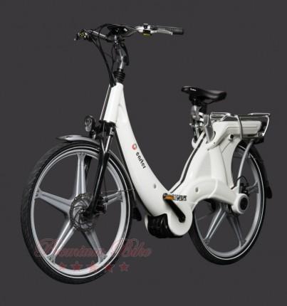 "Carter Bikes Электровелосипед Carter 26"" унисекс bianco"