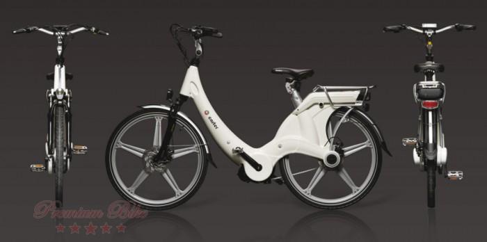 "Carter Bikes Ёлектровелосипед Carter 26"" унисекс bianco"