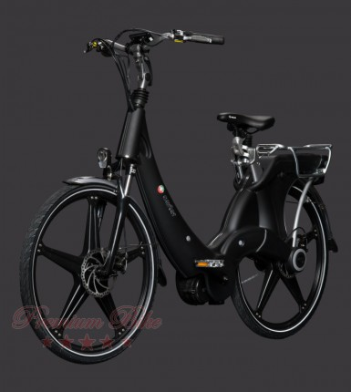 """Carter Bikes Электровелосипед Carter 26"""" унисекс nero"""