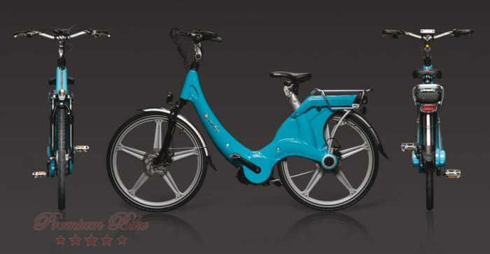 "Carter Bikes Электровелосипед Carter 26"" унисекс azzurro"