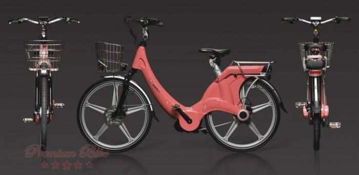 "Carter Bikes Электровелосипед Carter 26"" унисекс roso"