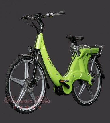 "Carter Bikes Электровелосипед Carter 26"" унисекс verde"